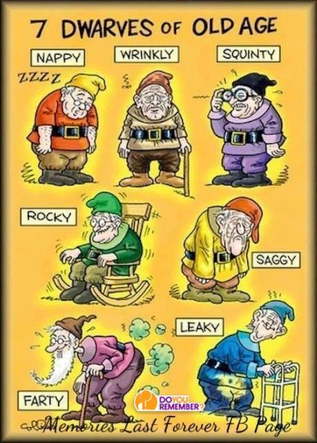 Seven dwarves of old age