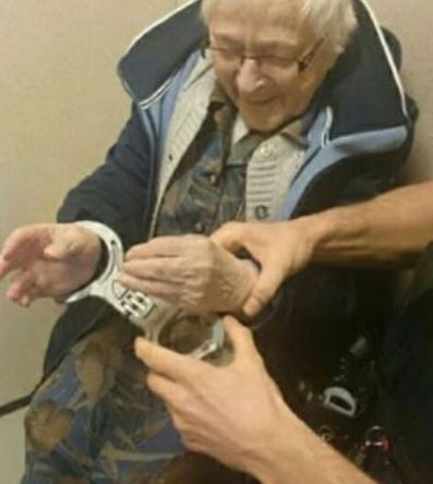 99 year old arrested for bucket list