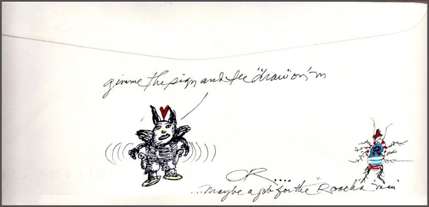 envelope to Hawaii