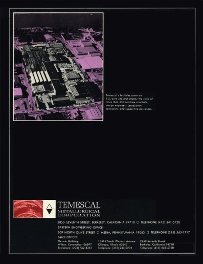 Temescal Back Cover
