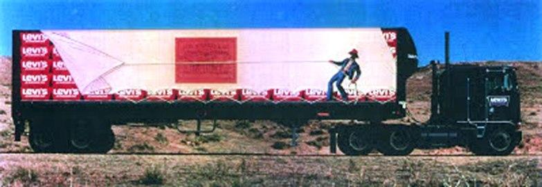 "1971, ""18 Wheeler Truck"", Artist: Michael Schwab"