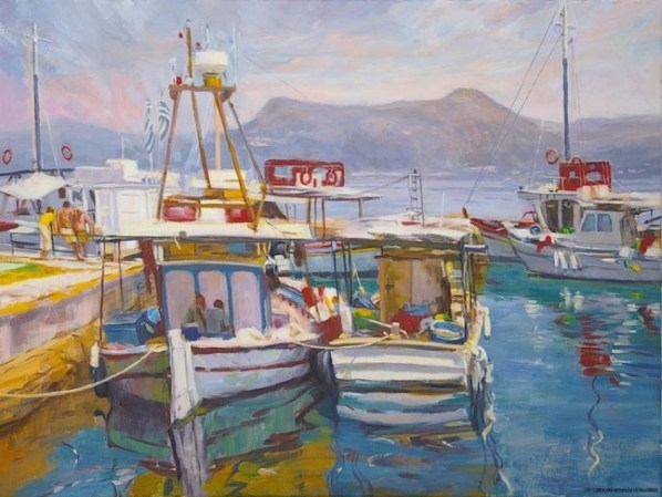 2-sunday-harbor-corfu-greece