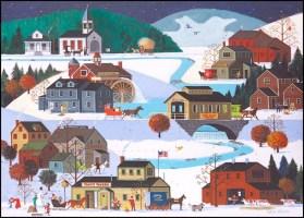 Jack Allen Company Town Puzzle