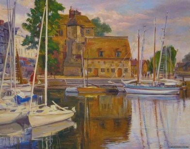 4-boats-buildings-of-honfleur-france