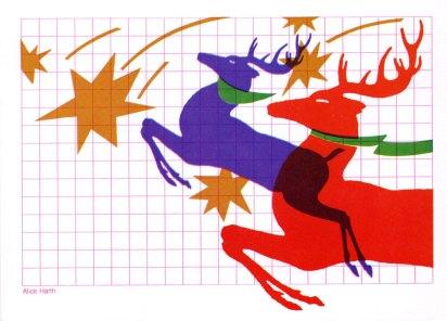 4 leaping-deer