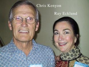 Chris Kenyon & Rae Ecklund