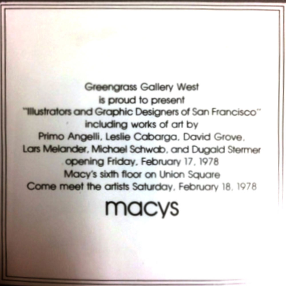 Macy's Card 1978