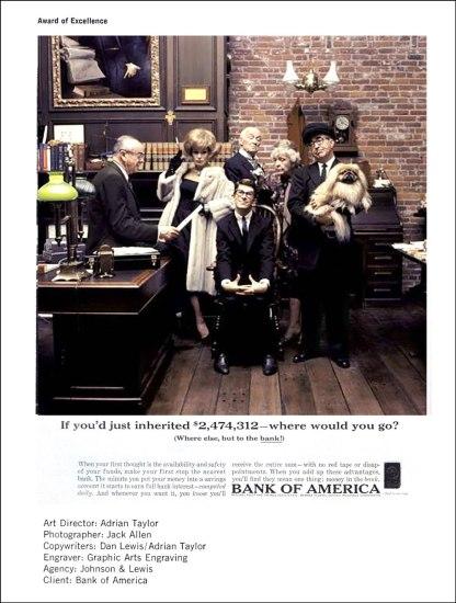 Jack Allen Bank of America Ad