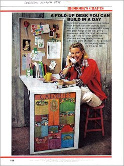 1978 Redbook Crafts March issue