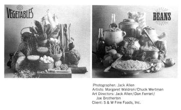 S&W Fine Foods Client 1964