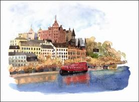 Stockholm Harbor