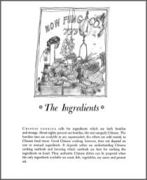 Earl Thollander Chinese Cookbook