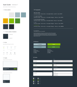 UI Patterns Style Guide