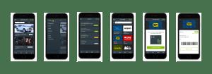 App Design Mockup Samples