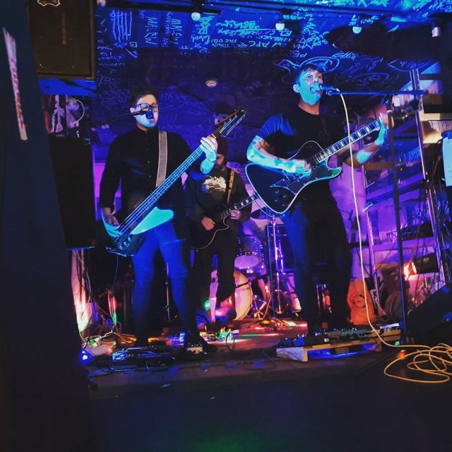 The band Bruises, who once played so loudly they shook the bar and broke 4 glasses off a shelf. -