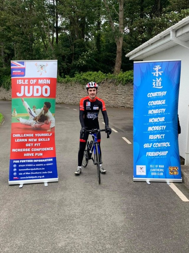 - When Richard Lloyd of the Isle of Man Southern Judo club passed recently, one of his students, Nathan Kennaugh, wanted to do something important in his memory. Deciding to do a 24 hour cycle, Nathan began training alongside school work and Judo practice and completed his effort on the 25th/26th July. Supported by family, friends and his team-mates, Nathan cycled around the NSC track for the whole time period. Completing 427 laps Nathan cycled around 213 miles in total!The effort has raised over £1800 from online and in person donations which will be split between the IOM Judo Team, which Richard coached, and the Police Benevolent Fund, as Richard was a member of the force for many years. A truly incredible effort from Nathan which is perfect to remember someone who had such an impact on so many. Thank you Nathan!