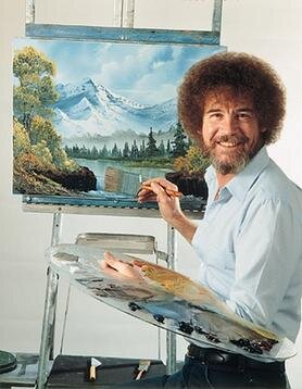 - Bob Ross nightGrab your paints, pop some Bob Ross on and follow along in one of the calmest parties you can have.