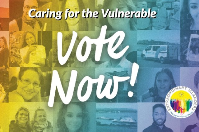 Caring for the Vulnerable - Extraordinary Islanders Finalists