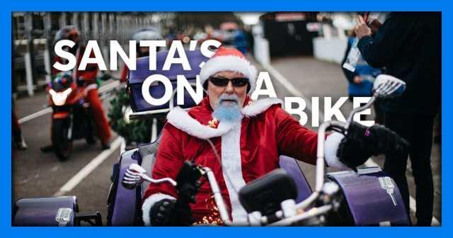 Santa's on a Bike 2020