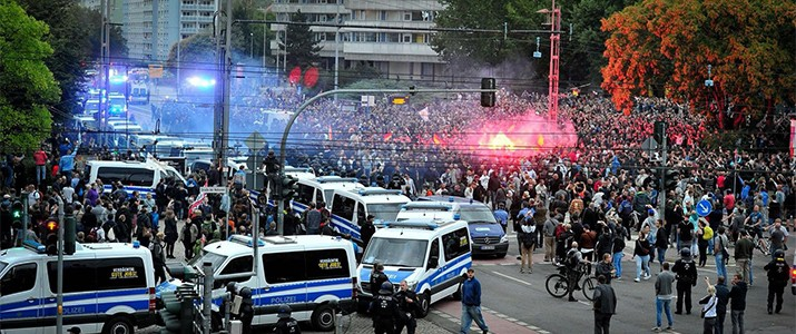 In Chemnitz geht was: Die Verschiebungen nach rechts werden wahrnehmbar