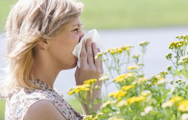 Heuschnupfen-Allergie