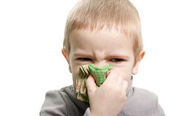 Effektiv Nasenschleim auspusten
