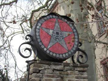 Sternburg-Logo in Lützschena
