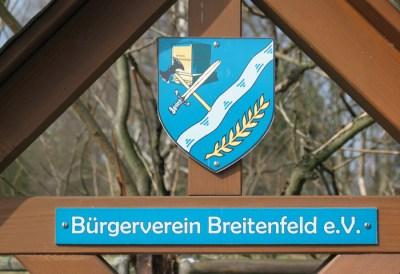Das Breitenfelder Wappen