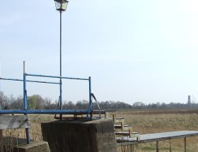 Ein Stausee ohne Wasser