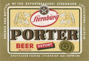 Sternburg Porter
