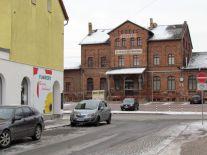 Bahnhof Knauthain im Januar 2017