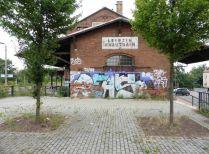 Bahnhof Knauthain im Sommer 2015