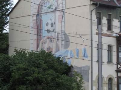 Hund in der Prager Straße