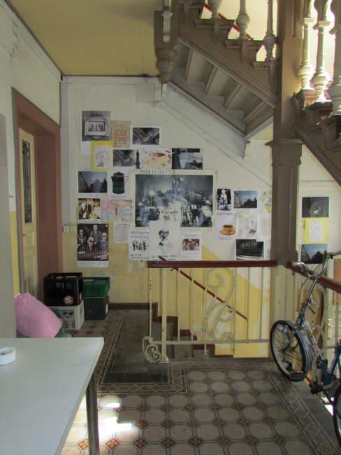Kaffee Schwarz, Treppenhaus