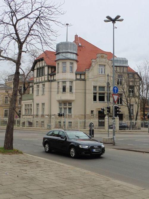Das Wagner-Nietzsche-Haus im März 2019