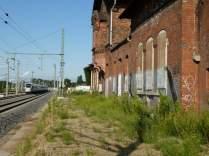 Bahnhof Leutzsch im Sommer 2012