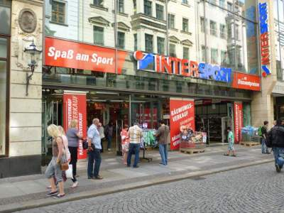 Intersport in der Hainstraße
