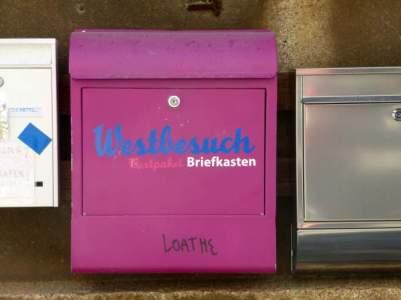 Westbesuch-Briefkasten