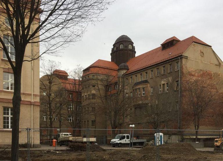 Stadtbad, Rückseite, Januar 2021 - Geheimtipp Leipzig