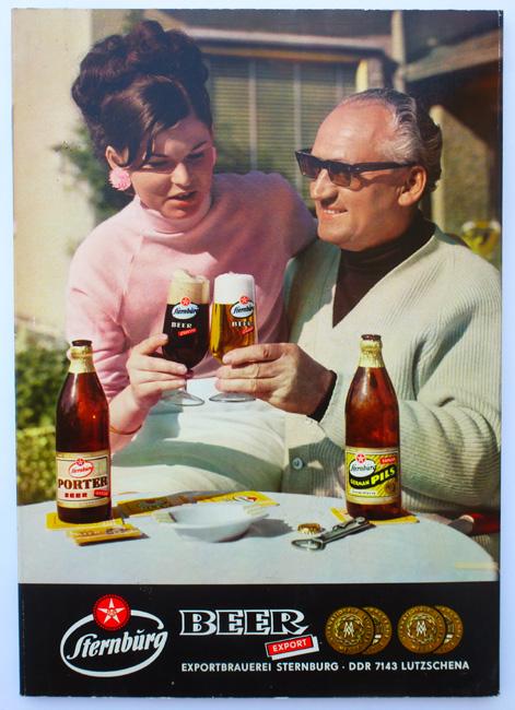 Alte Werbung für German Pils