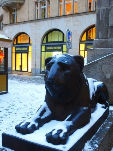 Leipziger Löwe am Naschmarkt