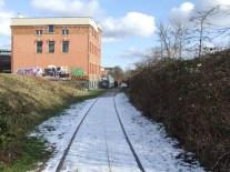 Schienenweg nach Connewitz