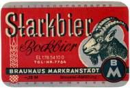 Cerveza Markranstädter Bock