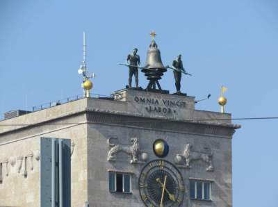 Leipzig campanas hombres