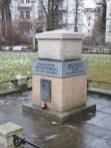 Poniatowski-Denkmal an der Elsterstraße