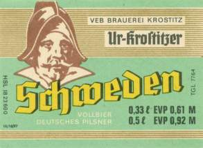 Cerveza Ur-Krostitzer Sueco