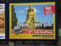 Leipzig wird gelb