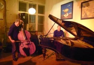 Franz Schwarznau und Matt van Kruutz