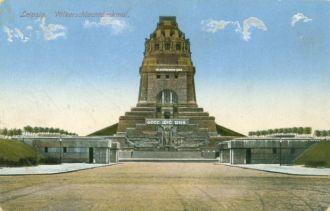 Postkarte Völkerschlachtdenkmal