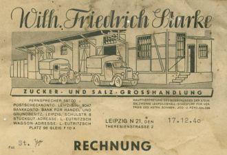 Zuckerrechnung, 1940er Jahre